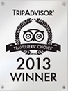 Trip Advisor - 2013 Winner